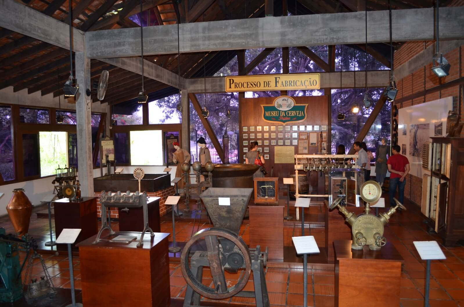 Museu da cerveja em Blumenau - processo de fabricação