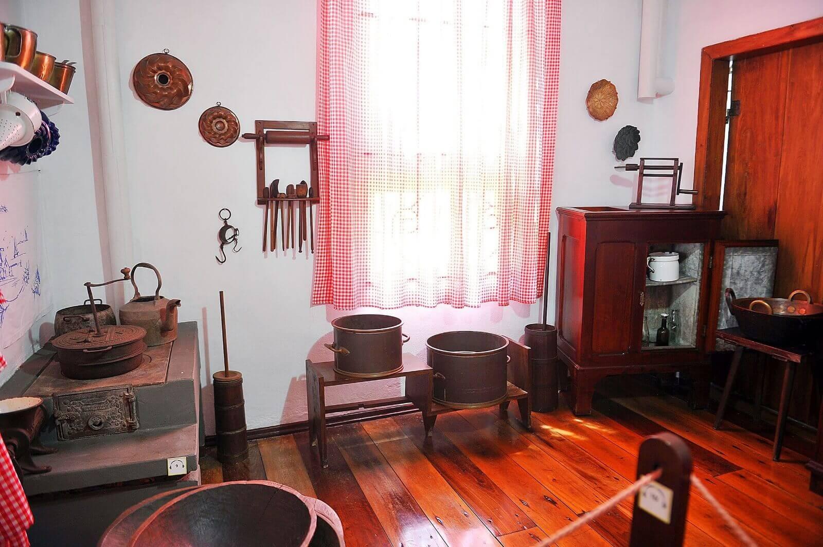 Museu família colonial de Blumenau - area interna